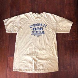 Other - Bourbon St triathlon t shirt
